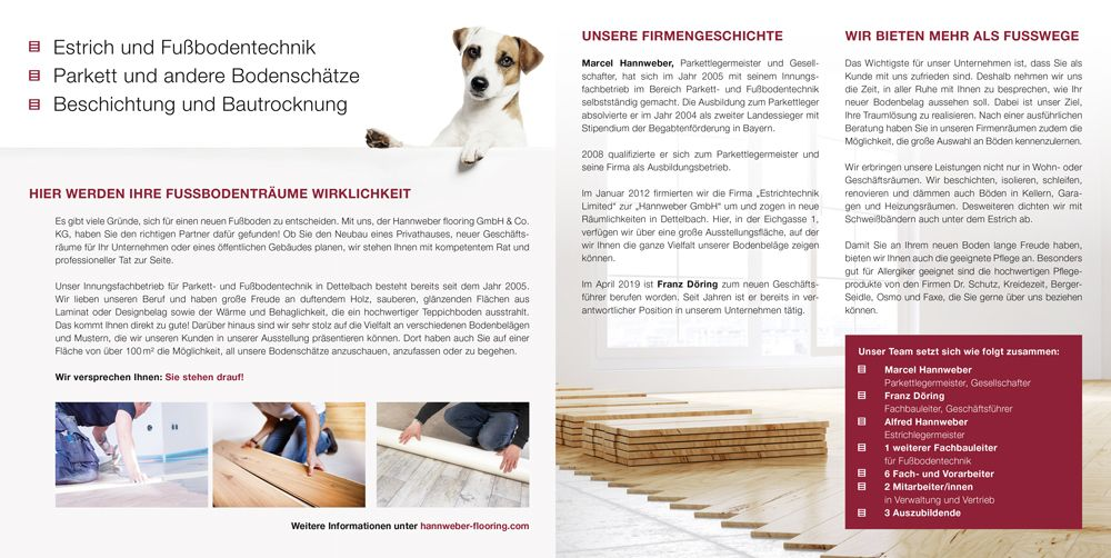 Hannweber flooring GmbH & Co. KG